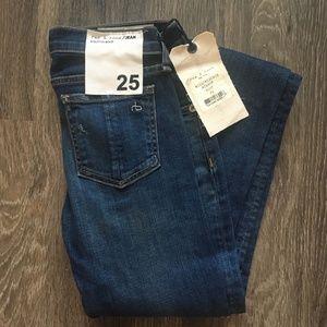Rag & Bone Stiletto Bootcut Jeans in Bishop